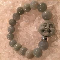 Bracelet with Imperial Jade Buddha Head